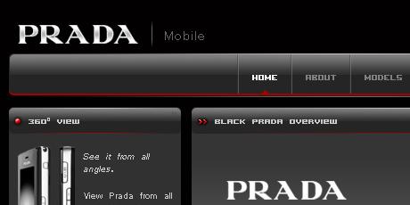 prada mobile