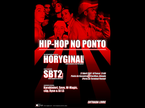 hip-hop no ponto