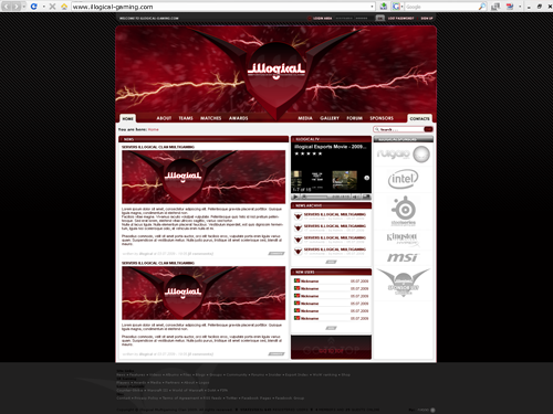 illogical gaming website