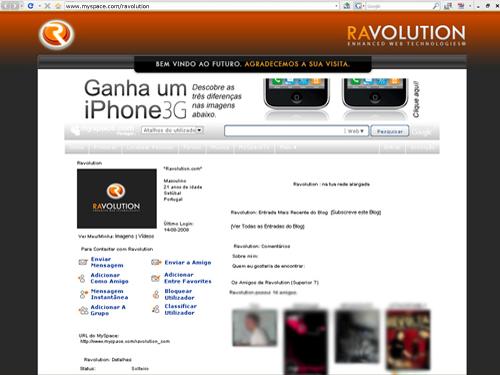ravolution myspace