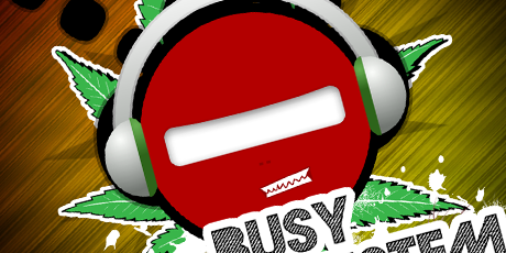busy sound system logo
