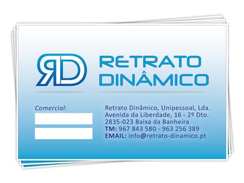 retrato dinamico card