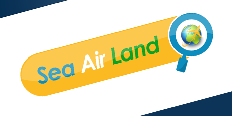 sea air land logo