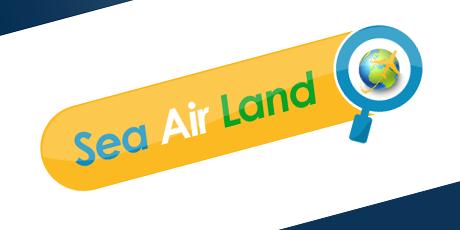 sea air land logo