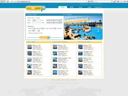 sea air land website