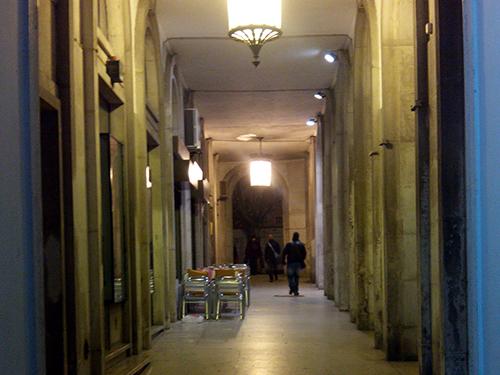 street hall
