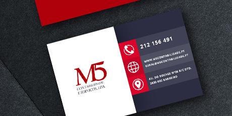 m5 contabilidade card
